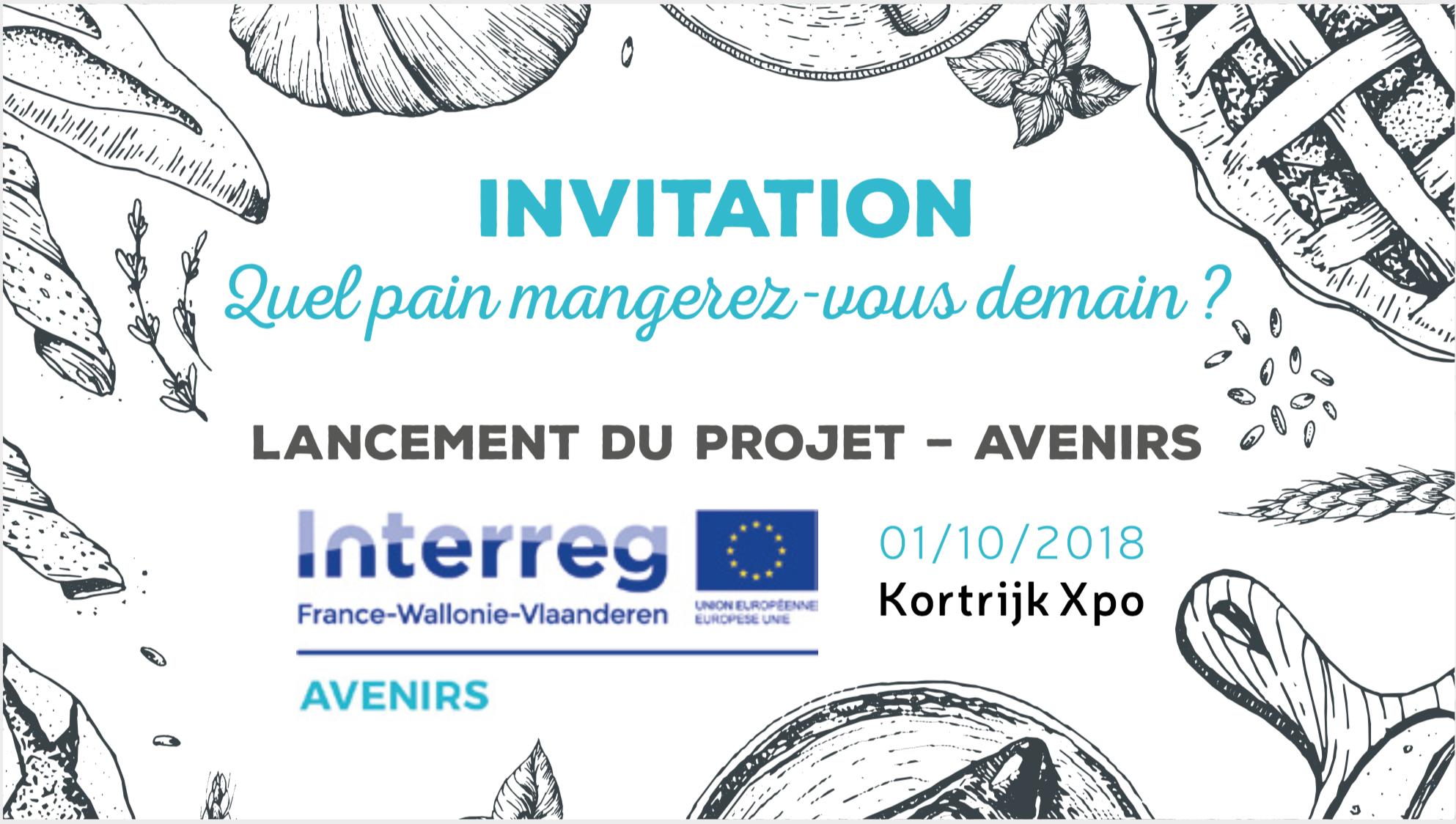 Invitation lancement du projet AVENIRS