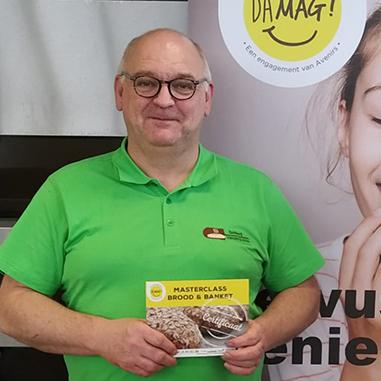 Bakker Kris Vandenbulcke met certificaat masterclass